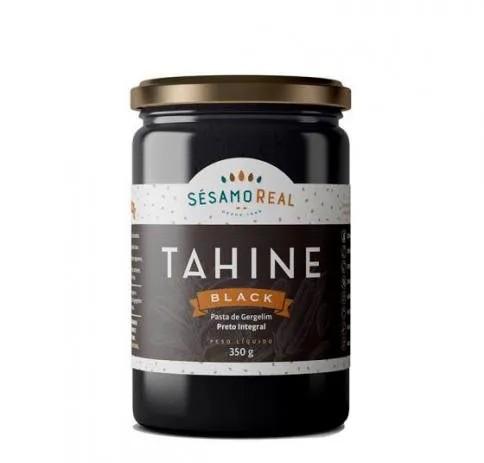 Tahine - Pasta de Gergelim Preto Integral 350g