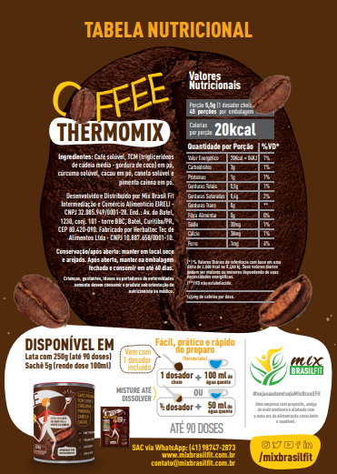 ThermoMix - Coffee Cx com 10 sachês 50g