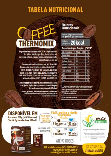 ThermoMix - Coffee Lata 250g