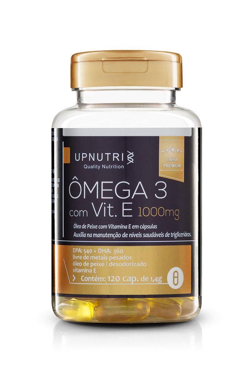 Upnutri - Ômega 3 Com Vitamina E 1000mg