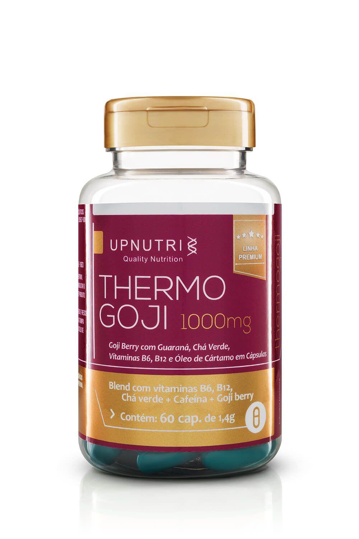 UpNutri - Thermo Goji (Chá Verde +  Cafeína + Goji Berry) 1000mg