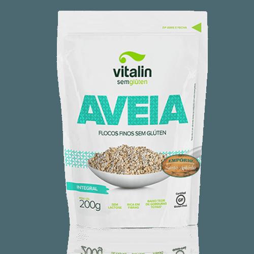 Vitalin - Aveia de Flocos Finos Integral 200g