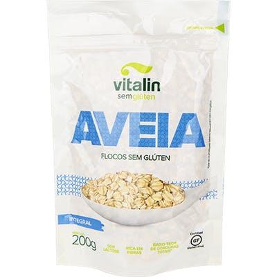 Vitalin - Aveia Flocos Integral sem Glúten 200g