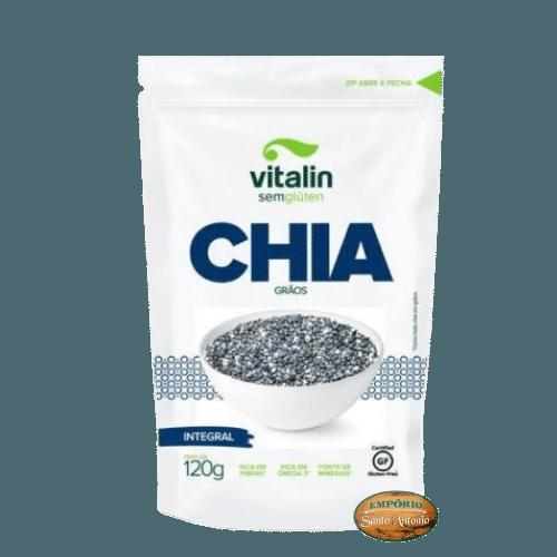 Vitalin - Chia em Grão sem Glúten 120g