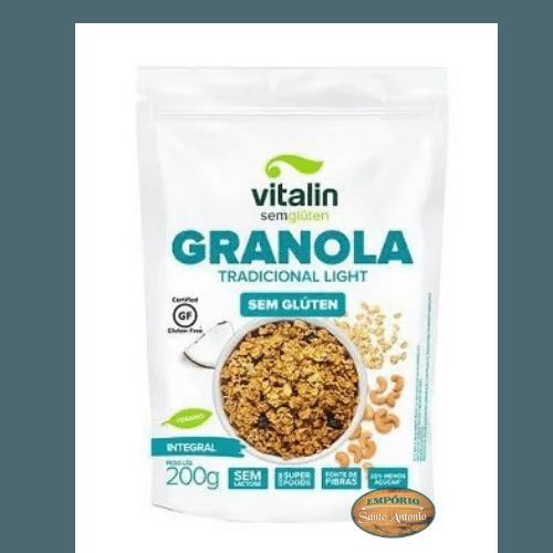 Vitalin - Granola Tradicional Light  200g