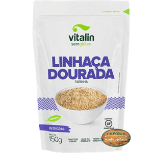 Vitalin - Linhaça Dourada Farinha 150g