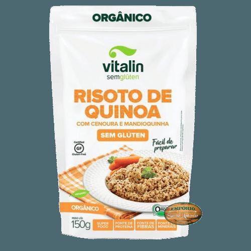 Vitalin - Risoto de Quinoa com Cenoura e Mandioquinha 150g