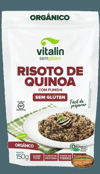 Vitalin - Risoto de Quinoa com Funghi 150g