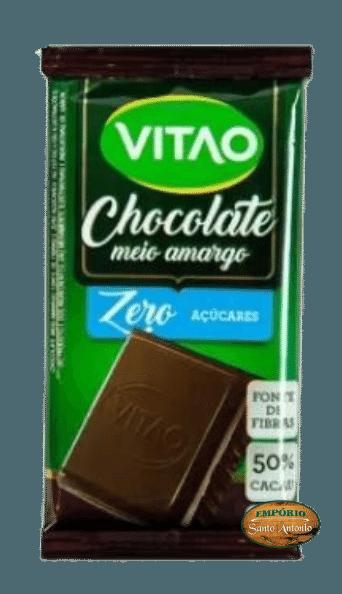 Vitão - Chocolate Meio Amargo - Zero Açúcar 22g