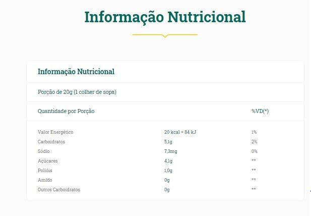 Vitao - Geleia de Ameixa Diet 200g