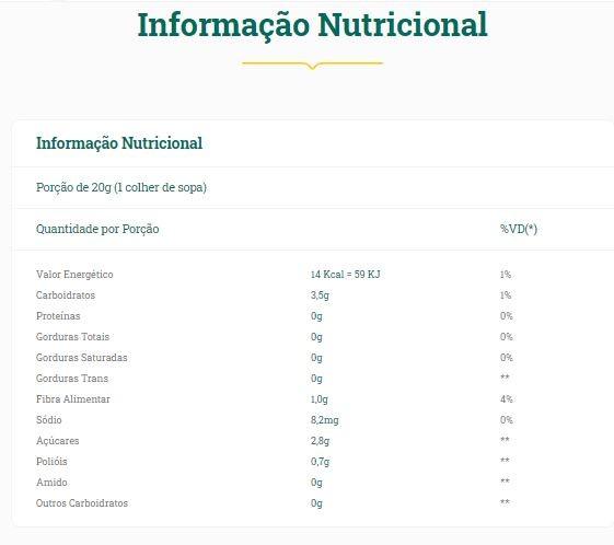 Vitao - Geleia de Goiaba Diet 200g
