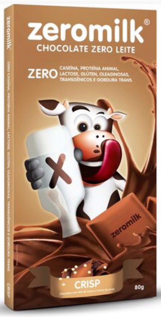 ZEROMILK - Tablete Chocolate Crisp 80g