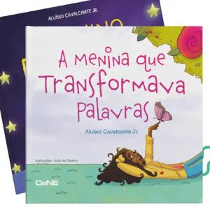 Kit Lançamento - A Menina que Transformava Palavras + O Menino que Colecionava Estrelas