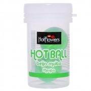Hot Ball Beijável Menta