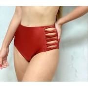 Hot Pants Lateral Cobre Metalizado