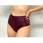 Hot Pants Lateral Uva Metalizado