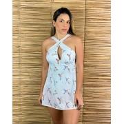 Maiô Vestido Beija Flor