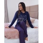 Pijama Adulto Longo Feliz