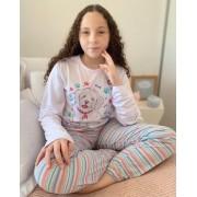 Pijama Longo Infantil Cachorro