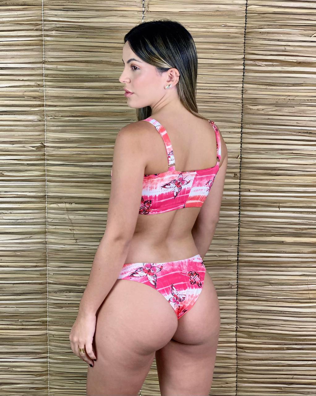 Calcinha Asa Delta Dupla Butterfly  - RMCE BRAZIL