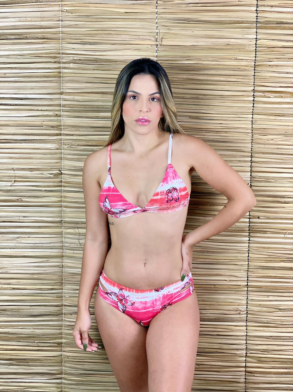 Calcinha Biquíni Dupla Aberta Butterfly   - RMCE BRAZIL
