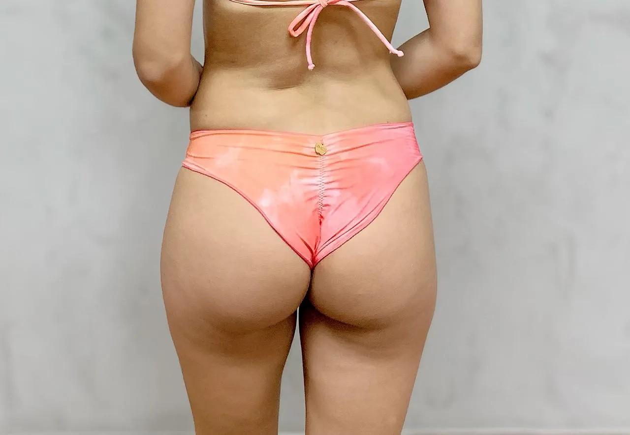 Calcinha Ripple Tie Dye Rosa   - RMCE BRAZIL