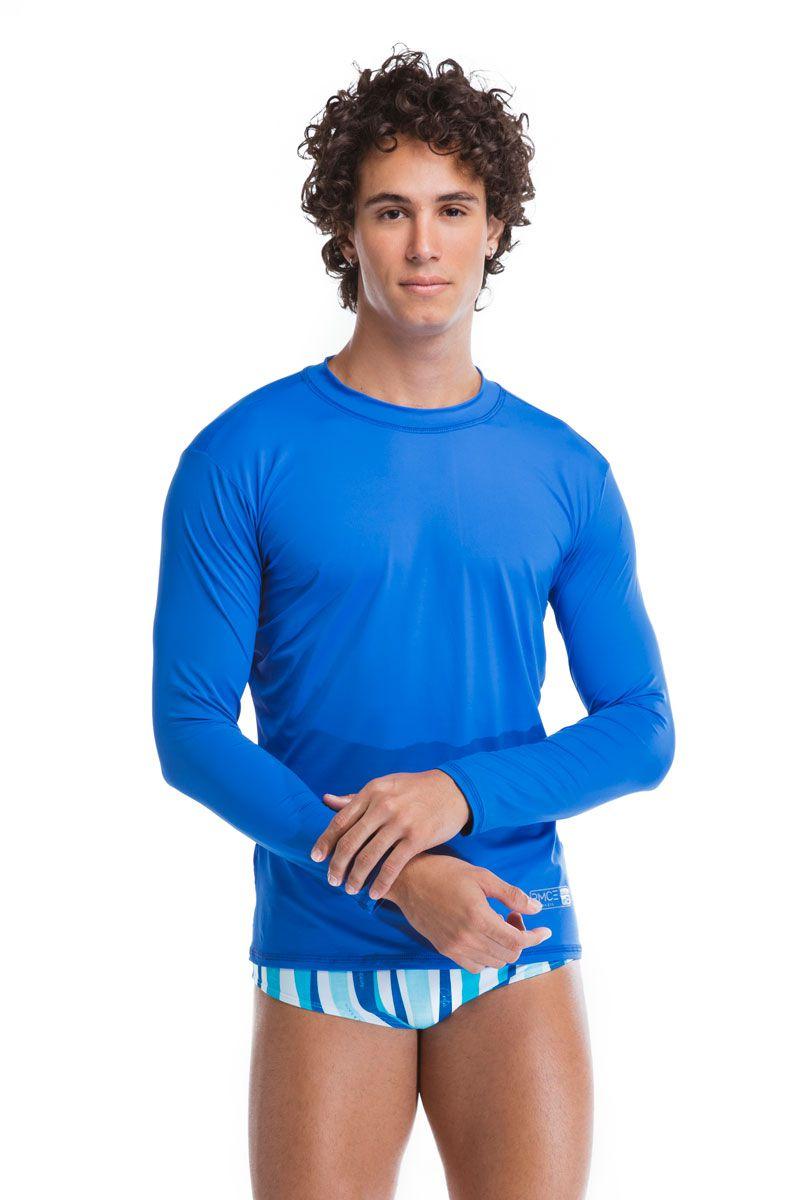 Camisa de Proteção Azul