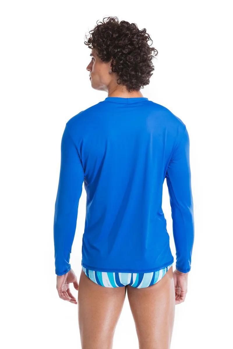 Camisa de Proteção Azul   - RMCE BRAZIL