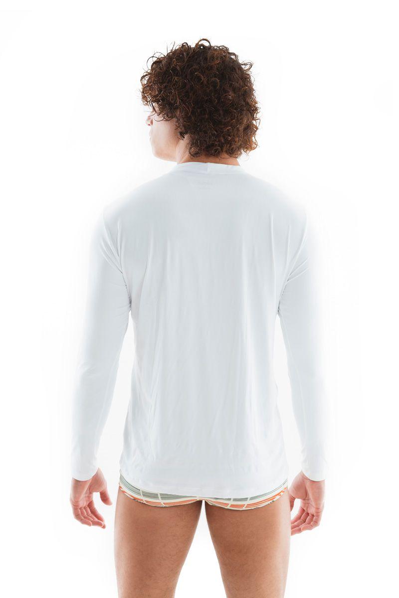 Camisa de Proteção UV Branca   - RMCE BRAZIL