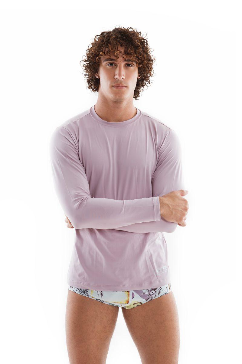 Camisa de Proteção UV Lavanda