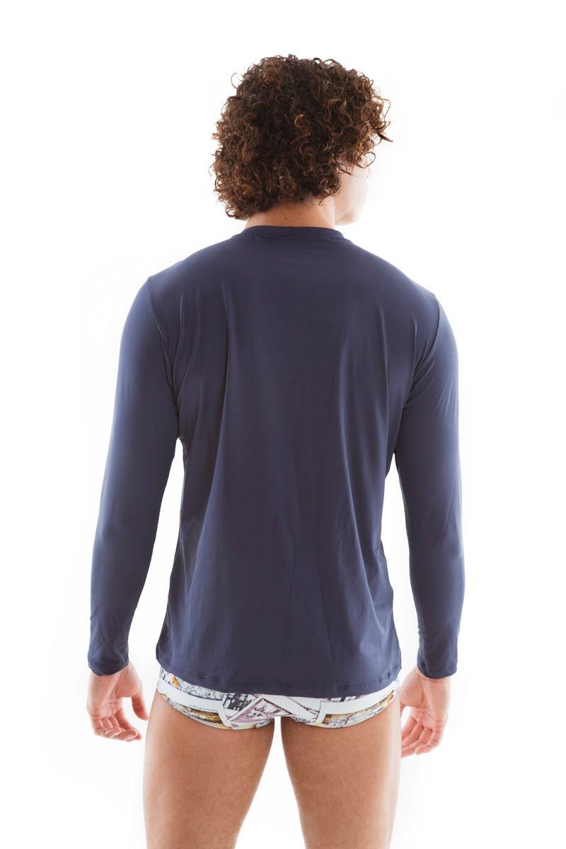 Camisa de Proteção UV Preta  - RMCE BRAZIL