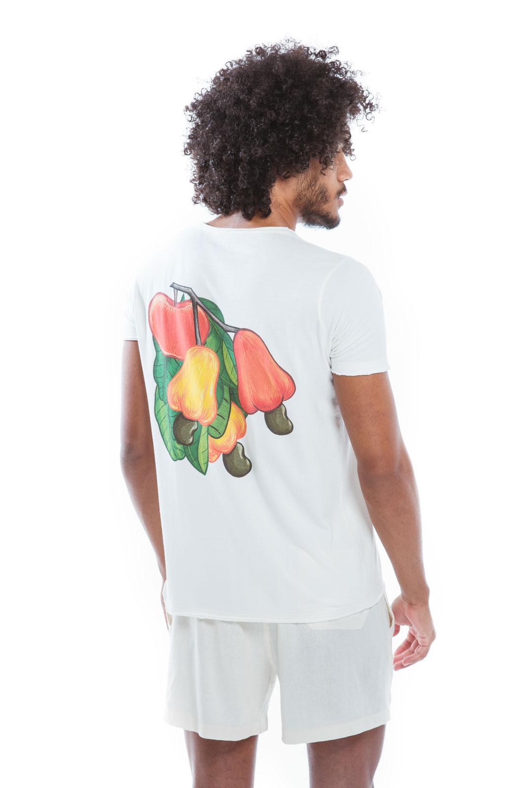 Camiseta Gola Caju Maça   - RMCE BRAZIL