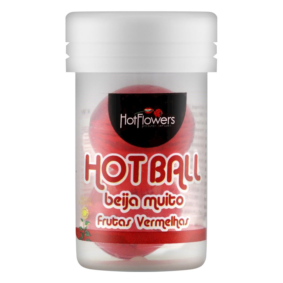 Hot Ball Beijável Frutas Vermelhas
