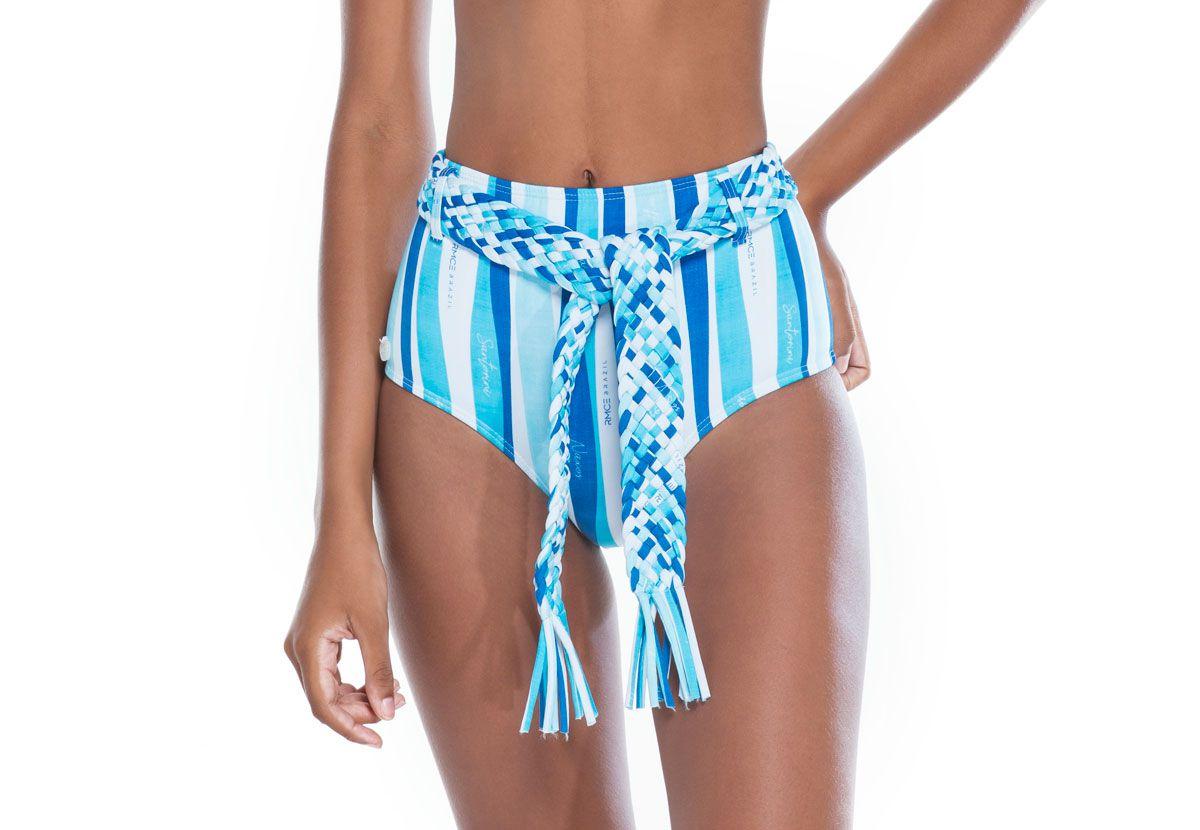 Hot Pants Cinto Trama Ilhas Gregas  - RMCE BRAZIL