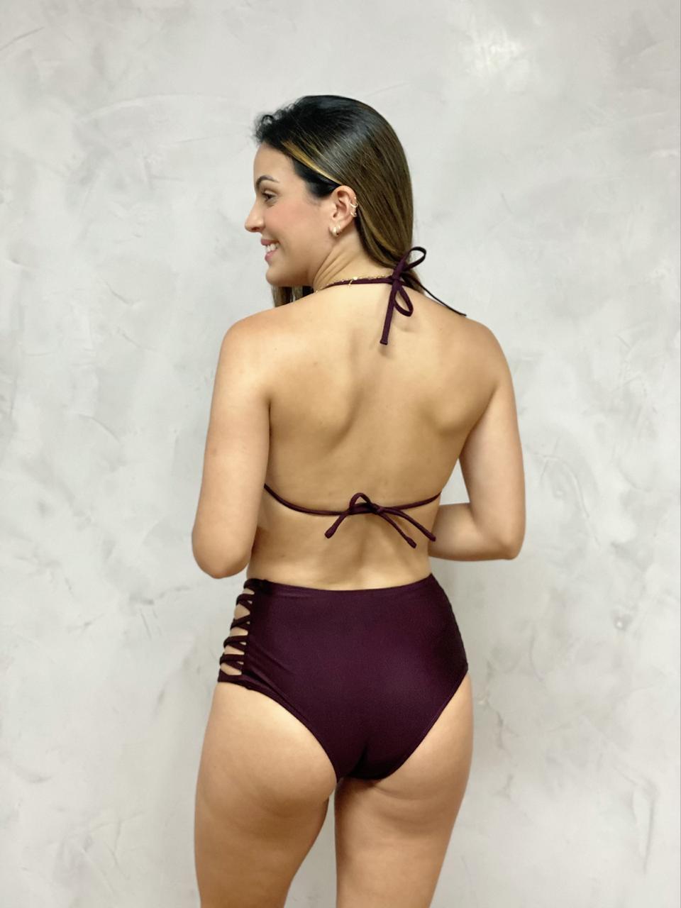 Hot Pants Lateral Uva Metalizado    - RMCE BRAZIL