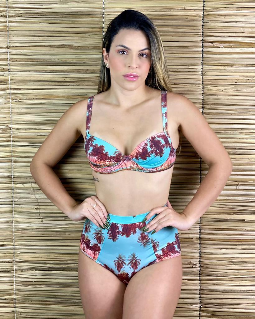 Hot Pants Pala Elástico Sunrise  - RMCE BRAZIL