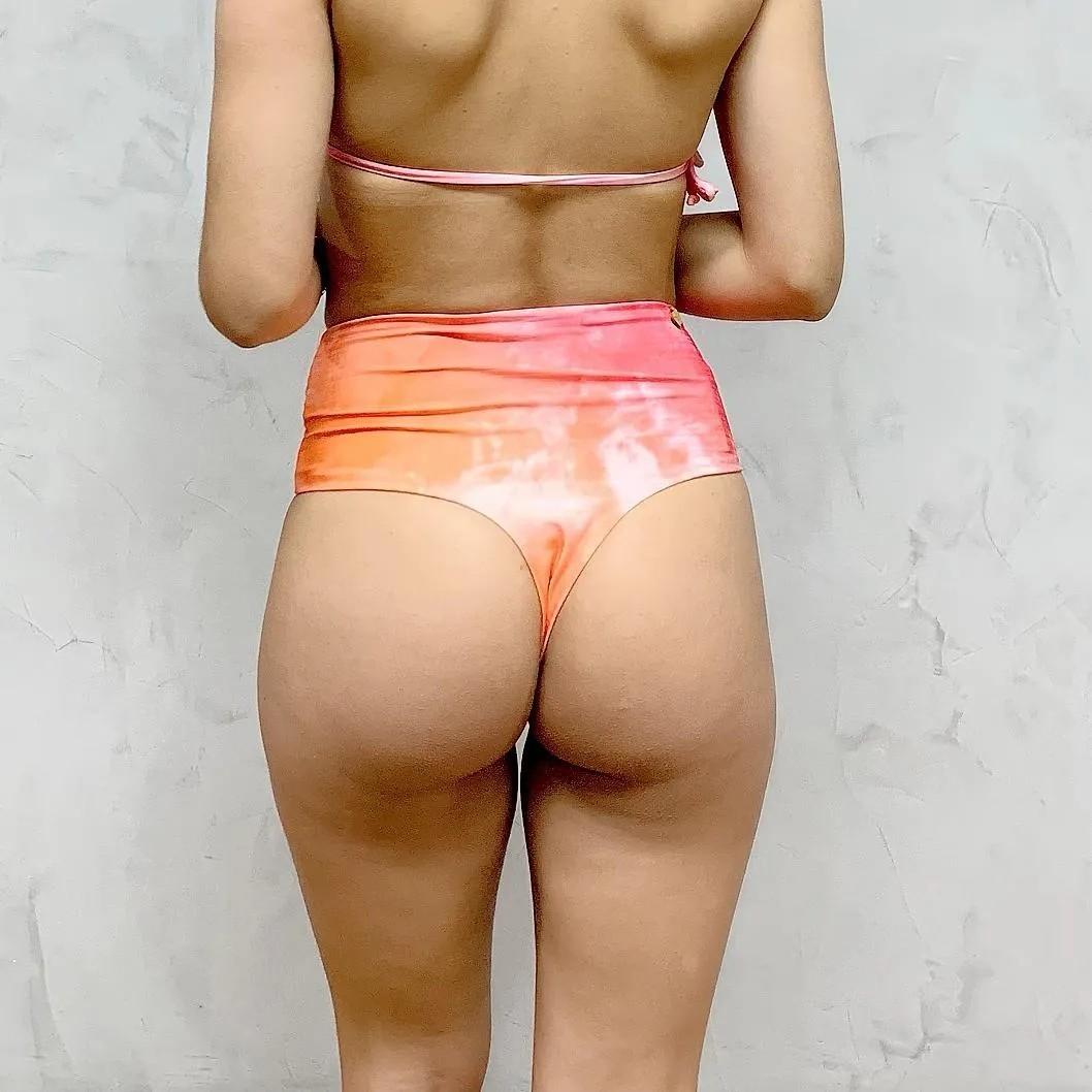 Hot Pants Fio Dental Tie Dye   - RMCE BRAZIL