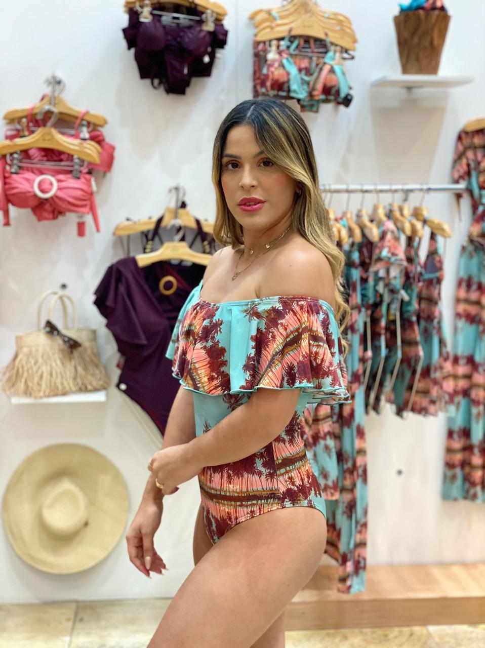 Maiô Body Ciganinha Sunrise  - RMCE BRAZIL