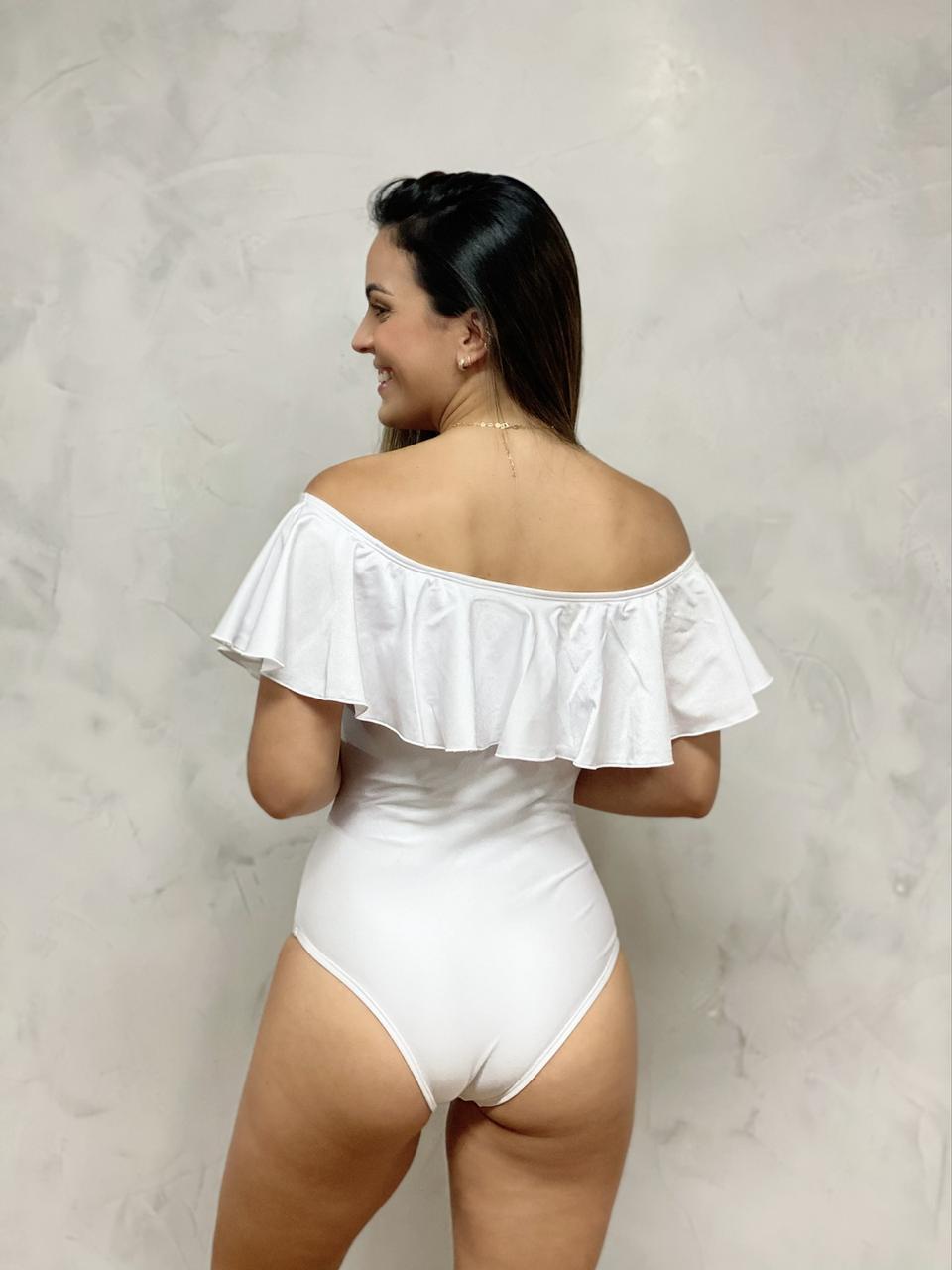 Maiô Ciganinha Branco   - RMCE BRAZIL