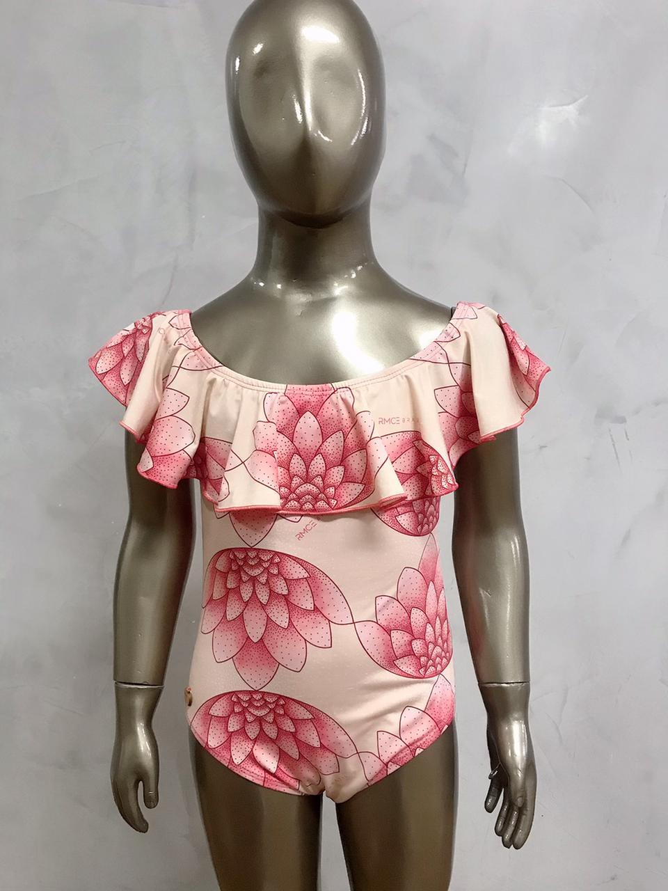Maiô Infantil Ciganinha Flor de Lotus   - RMCE BRAZIL