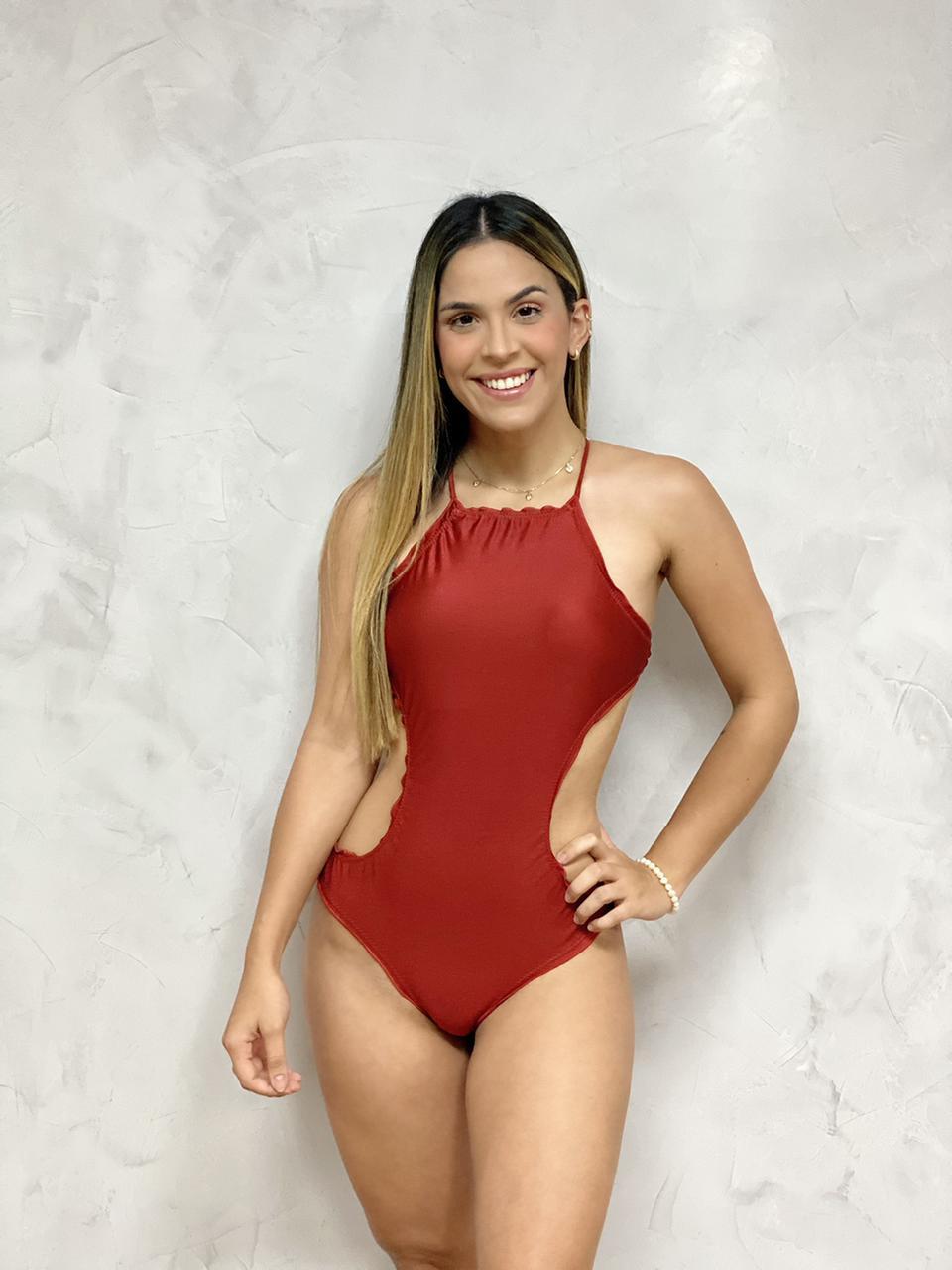 Maiô Ripple Adulto Cobre Metalizado   - RMCE BRAZIL
