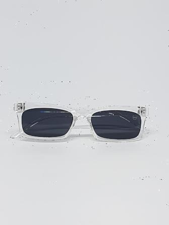 Óculos Masculino com Armação Transparente
