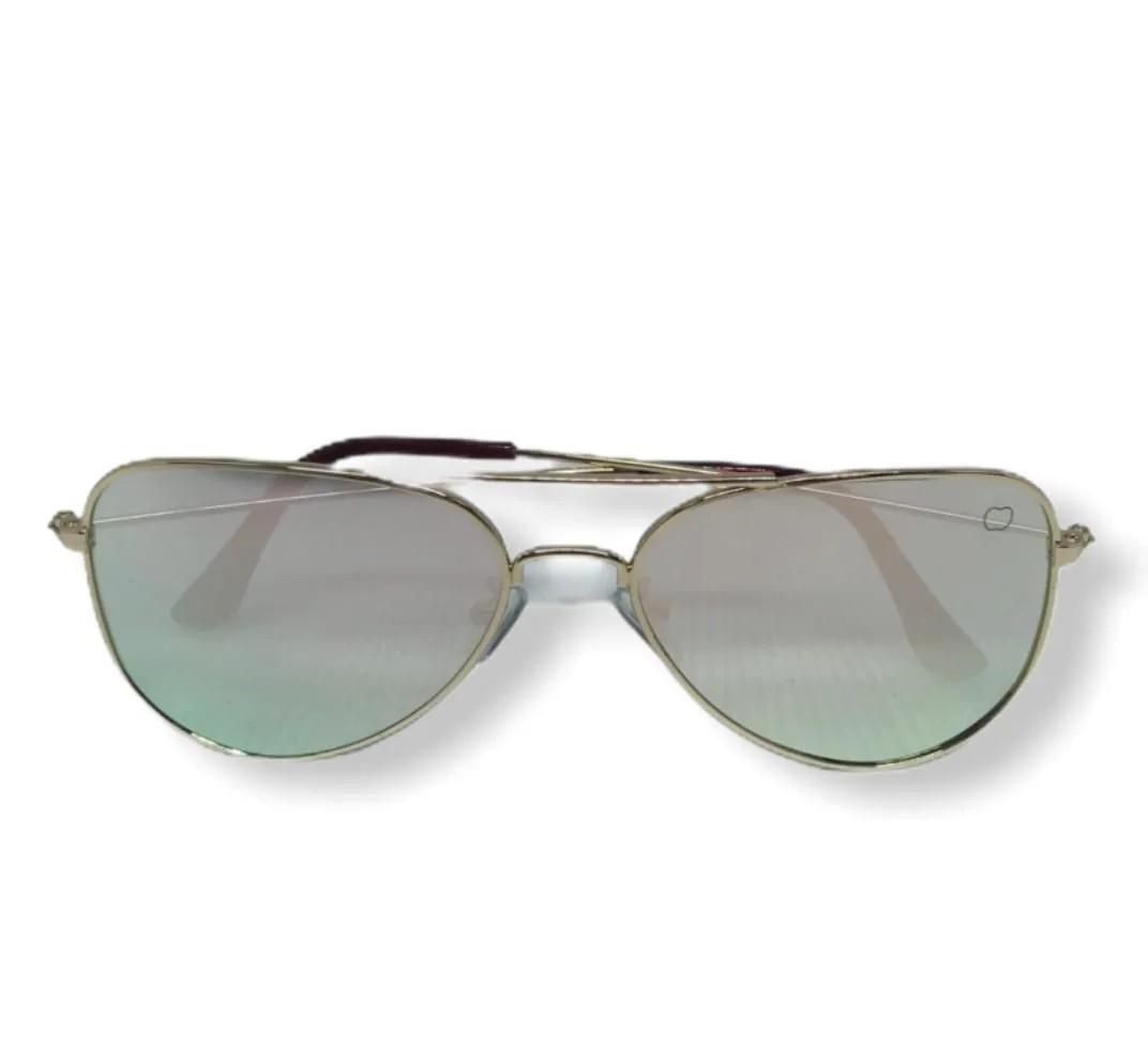 Óculos Ray Ban Metalizado