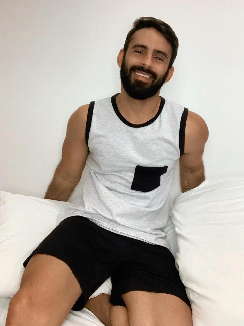 Pijama Adulto Curto Masculino