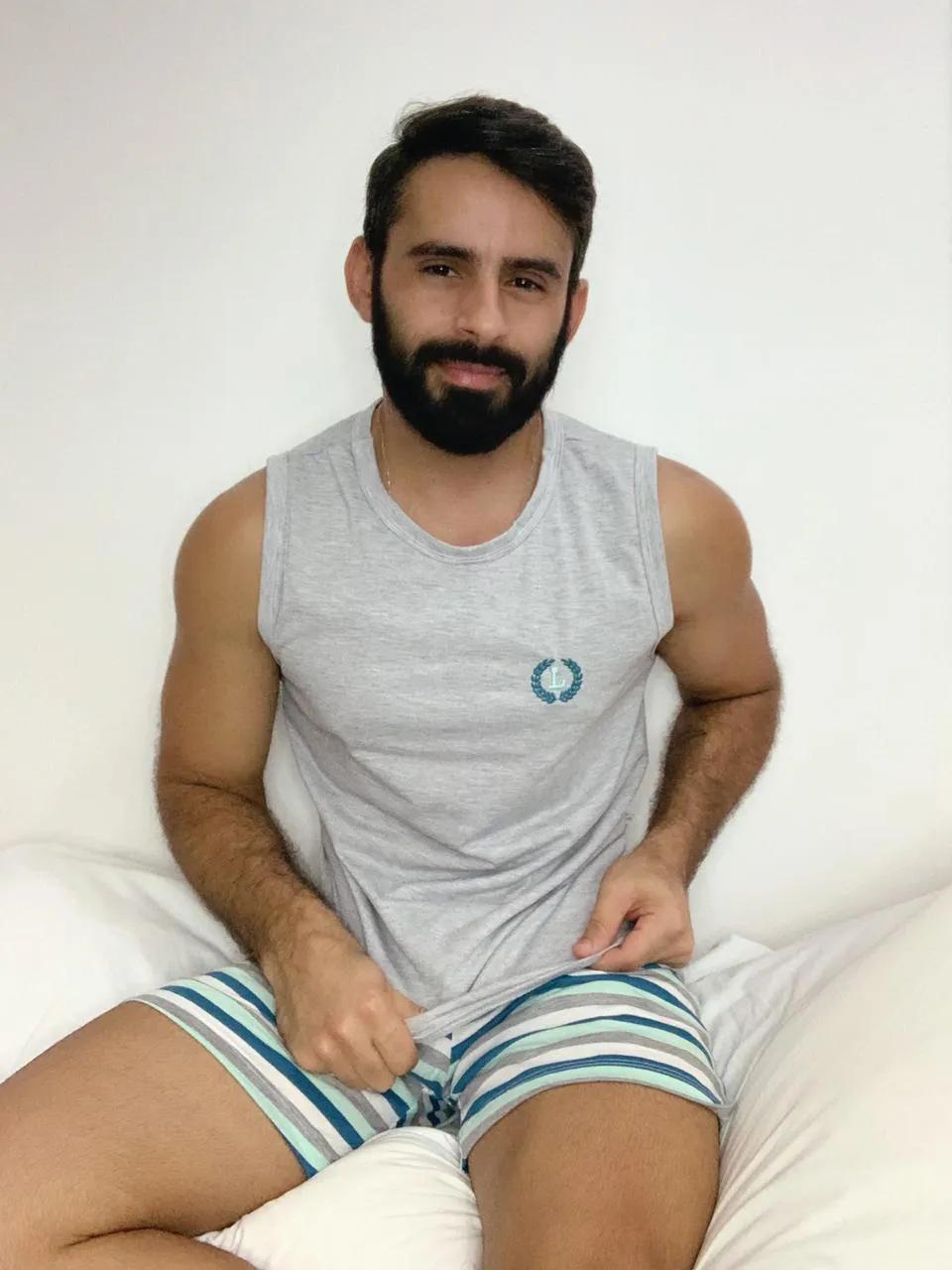 Pijama Curto Masculino Listra
