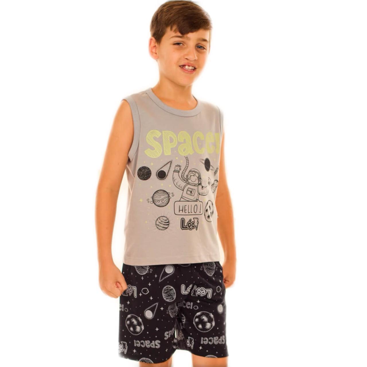 Pijama Infantil Regata Curto