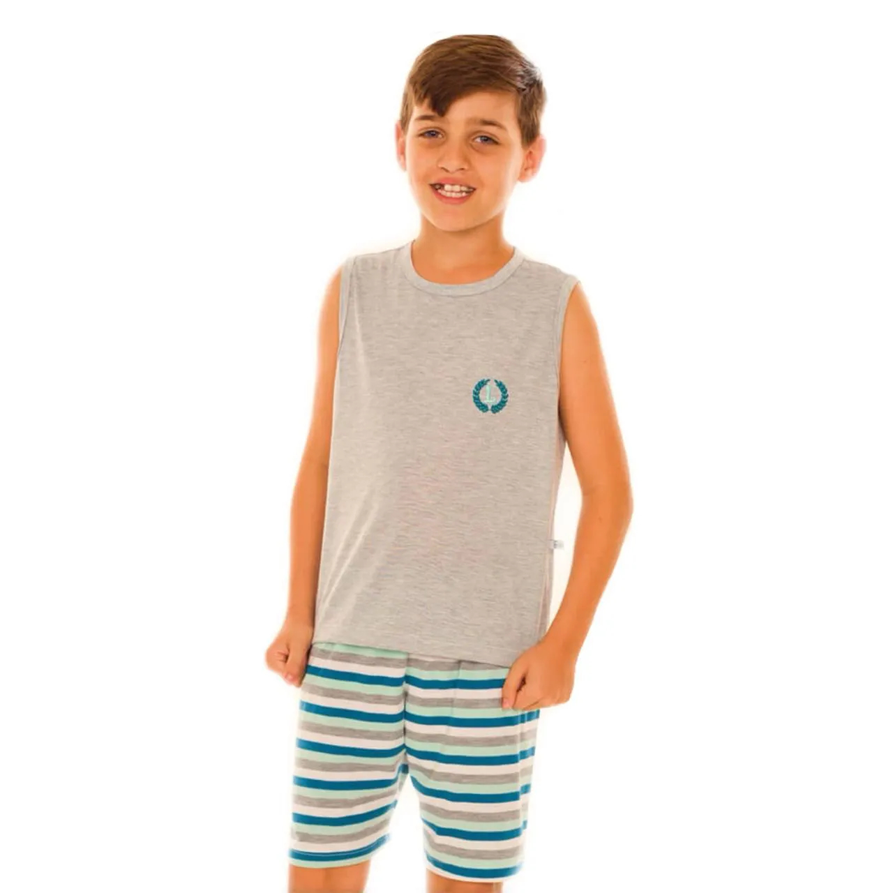 Pijama Infantil Regata Listra