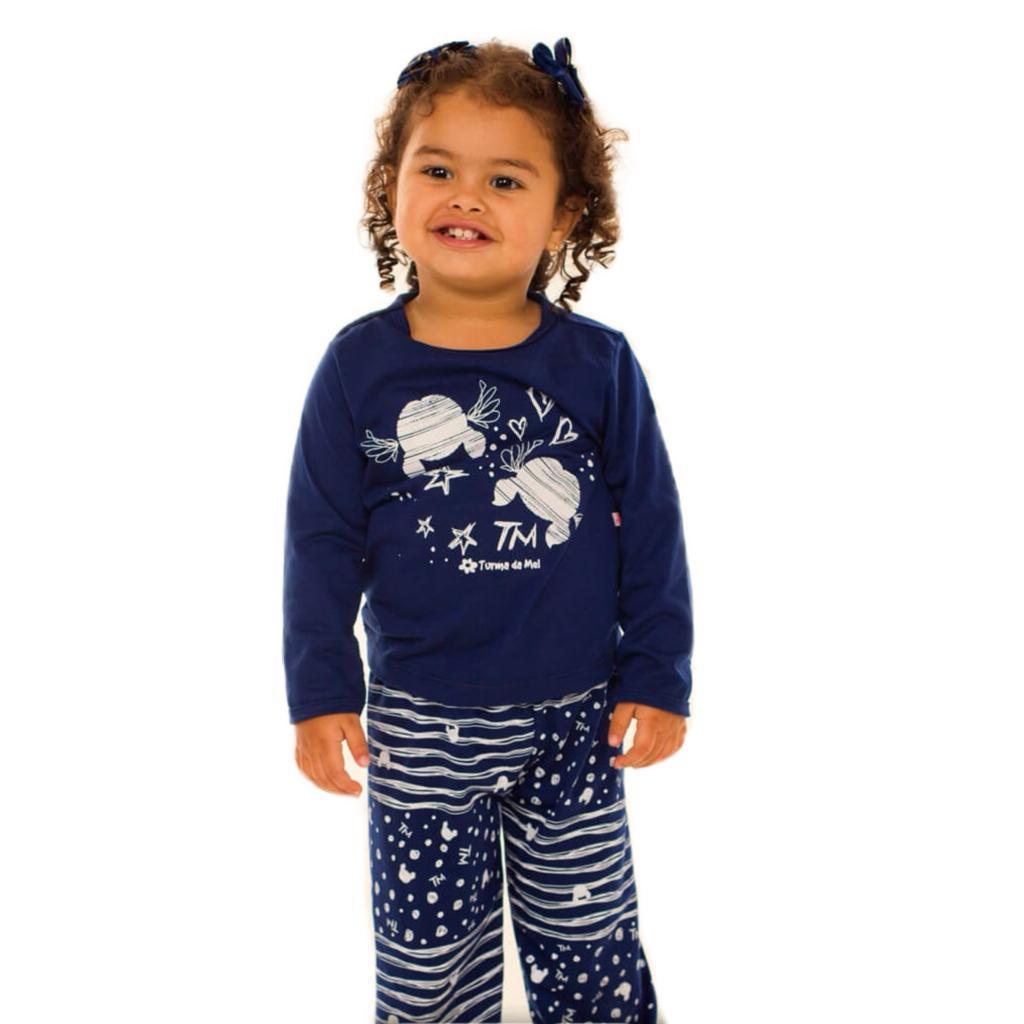 Pijama Longo Baby Rabisco   - RMCE BRAZIL