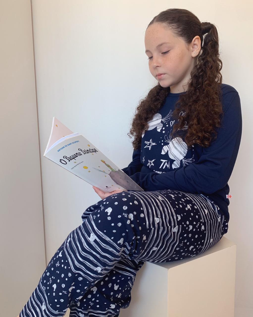Pijama Longo Infantil Rabisco  - RMCE BRAZIL