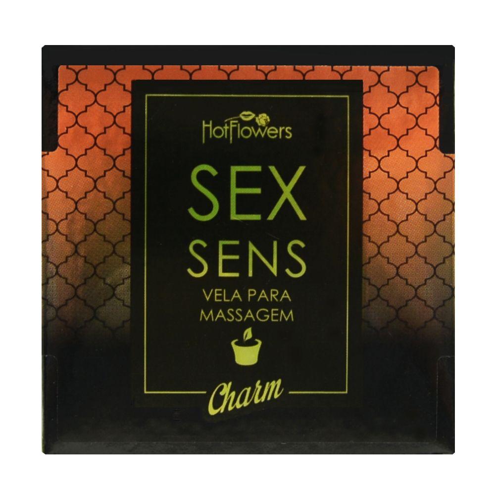 Sex Sens Vela Para Massagem Charm  - RMCE BRAZIL